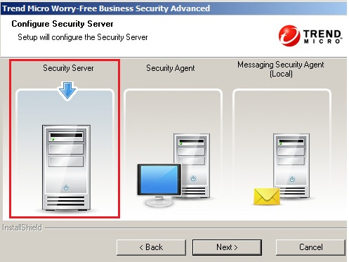 Setting up the Security Server