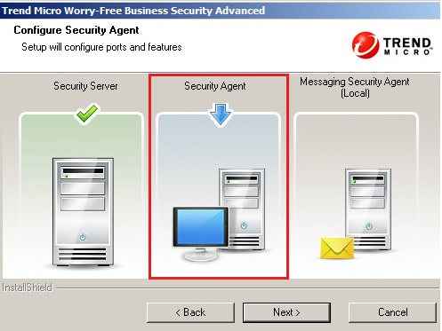 Configuring the Security Agent