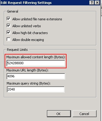 Edit Feature Settings