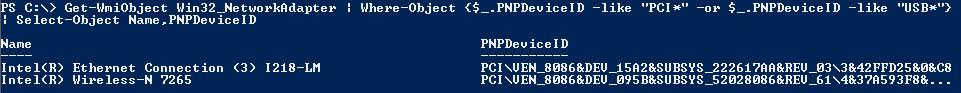 PCI ID