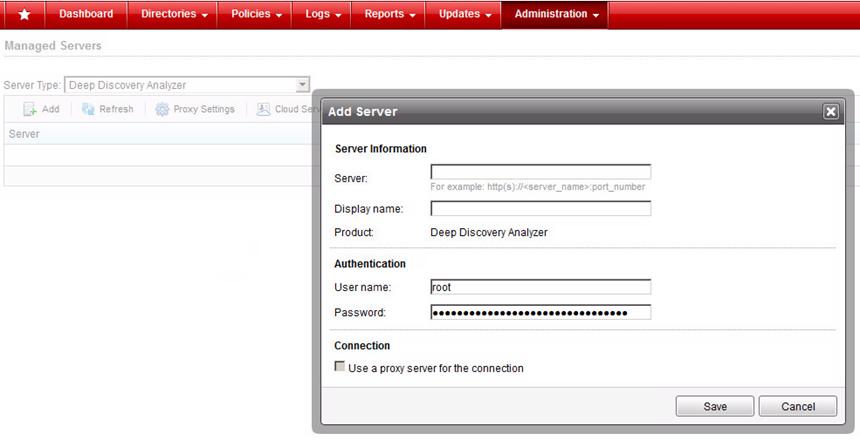 Server Type
