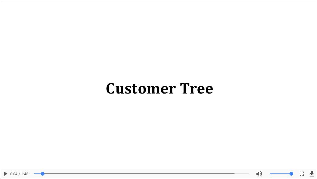 Customer Tree Node