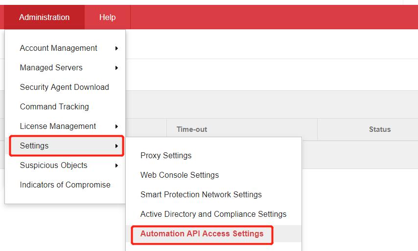 Automation API Access