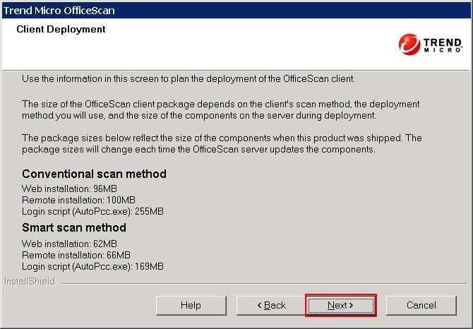 OfficeScan 10.6 Client Deployment