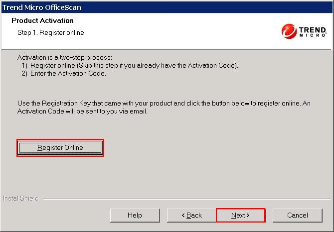 OfficeScan 10.6 Product Activation