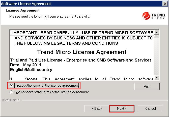 OfficeScan 10.6 End User License Agreement