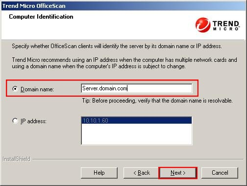 OfficeScan 10.6 Computer Identification