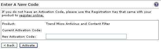 Enter a new code