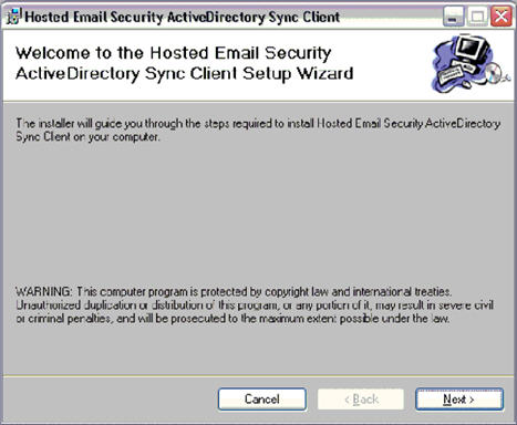 HES ActiveDirectory Sync Client