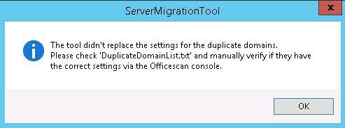 ServerMigration Tool