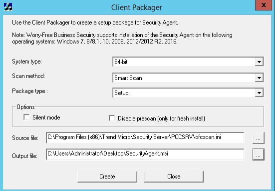 Client Packager