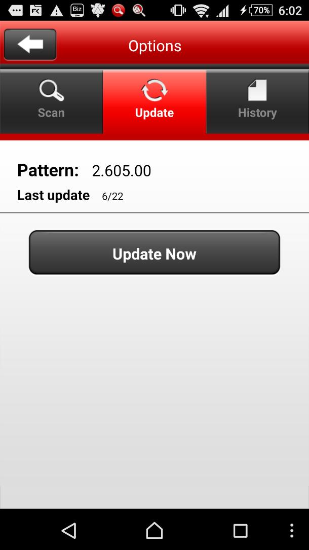 Pattern Update