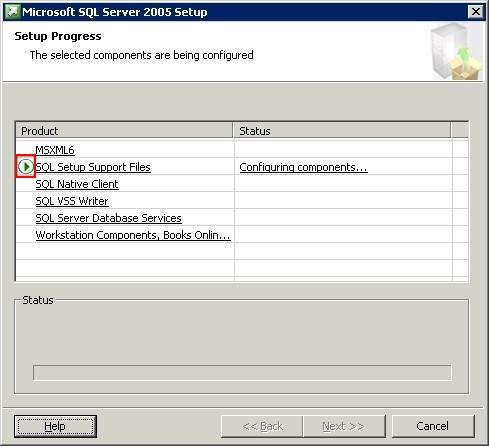 Microsoft SQL Server 2005 Setup