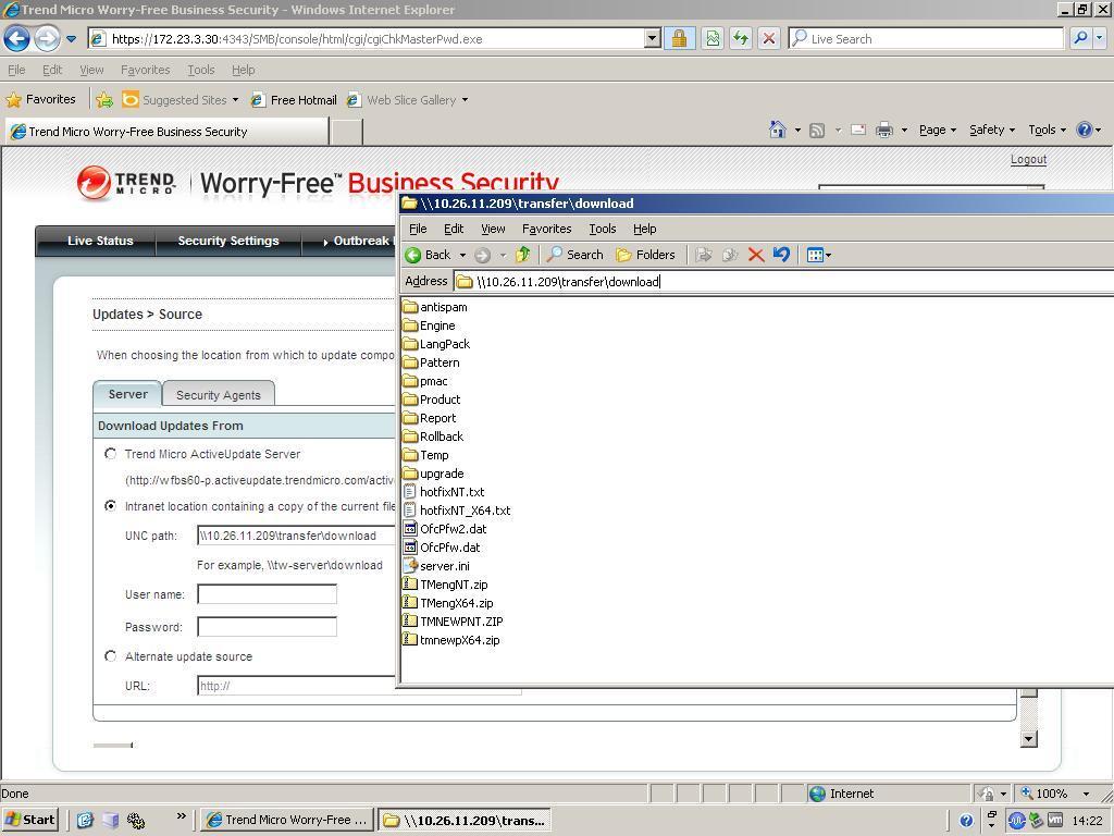 offline server source