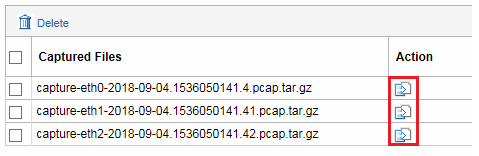 Download packet capture