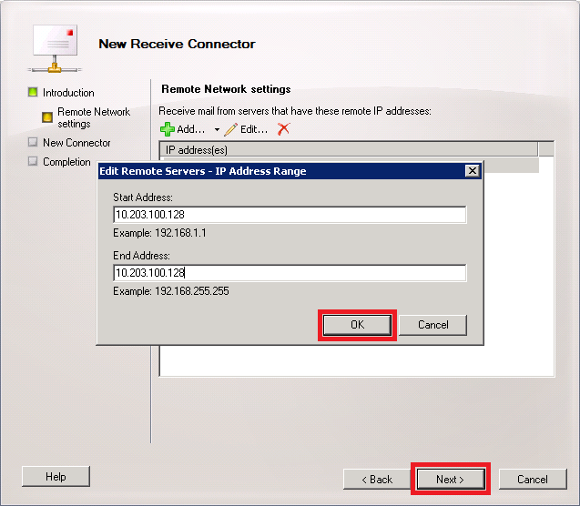 Edit Remote Servers