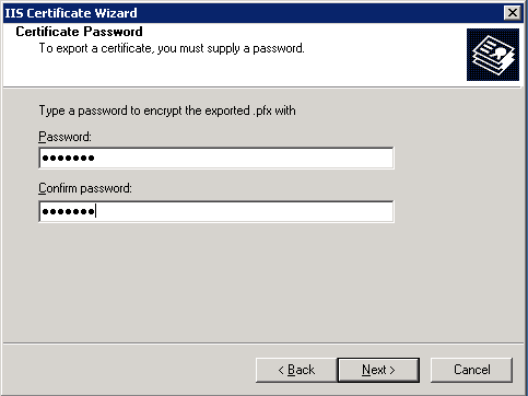 Enter the password.