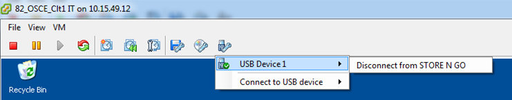 Connect to a USB device