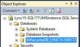 Database Object Explorer