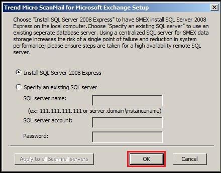 Install SQL server 2008 express