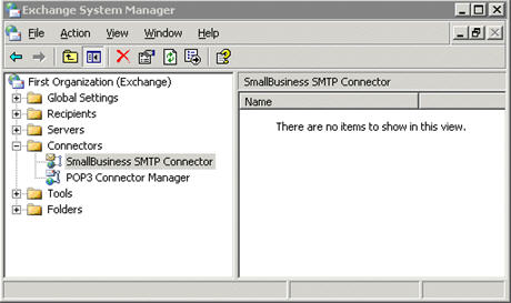SMB SMTP connector