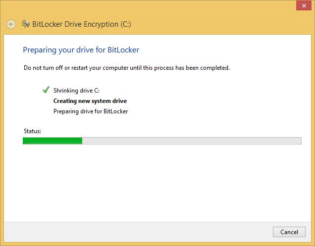 Windows will create the system partition