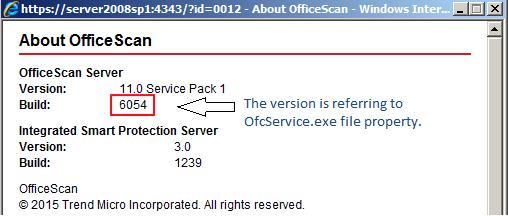 Verify OSCE server and agent build number