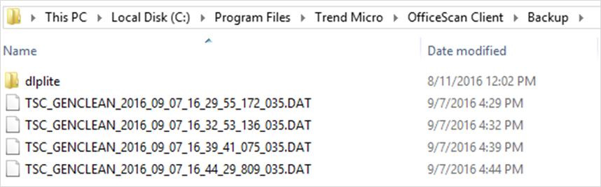 Quarantined Folder - PML Process New
