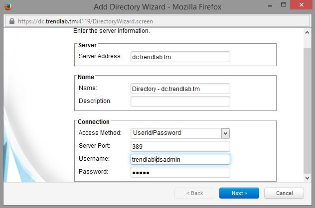 Adding Active Directory