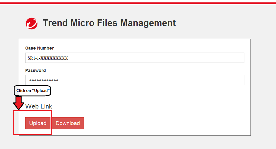 Uploading in Files Management