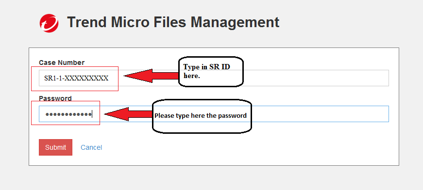 Files Management username and password