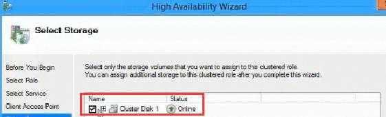 Select Online Storage