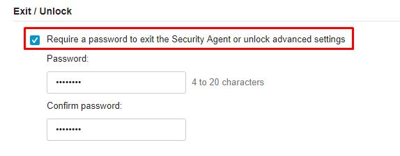 Exit-Unlock
