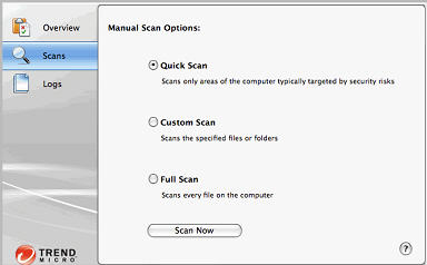 Scan client computer