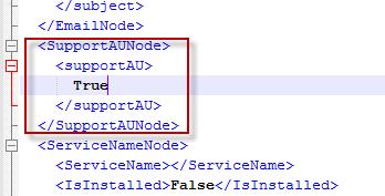 Parameter format