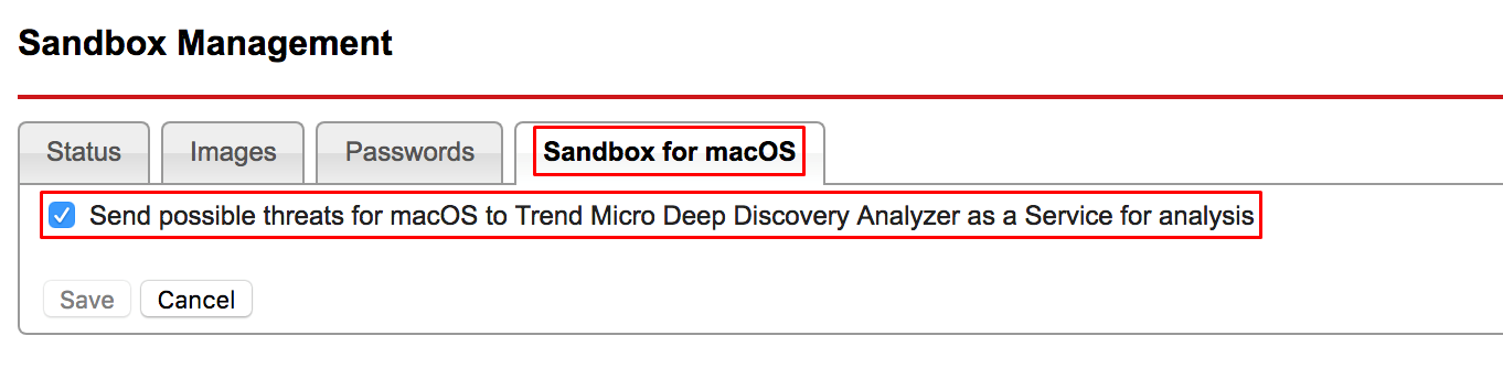 Sandbox for macOS