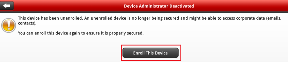 Enroll This Device