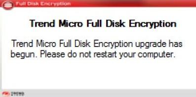 Full Disk Encryption upgrade