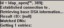 ldap_open