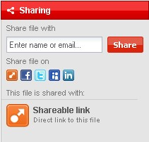 Disable shareable link