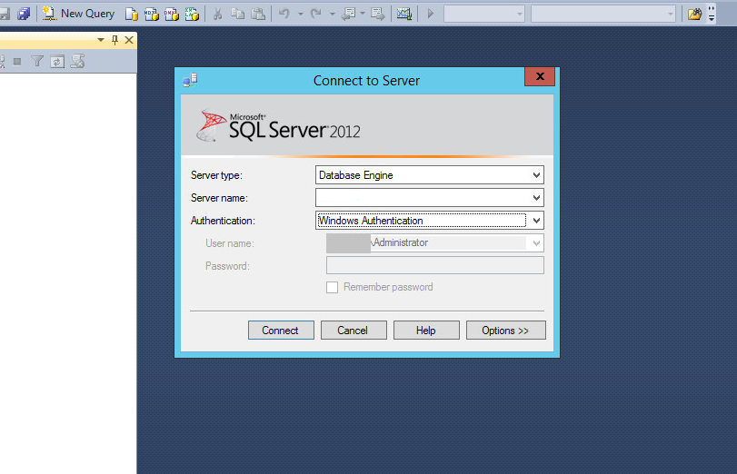 Microsoft SQL Server Management Studio tool