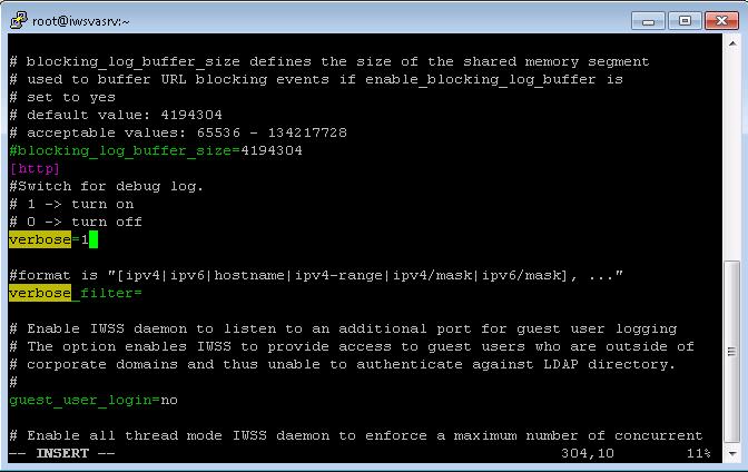 Modify file in insert mode