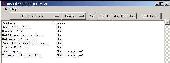 Disable Module Tool