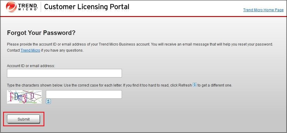Customer Licensing Portal