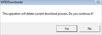 Delete downloaded file