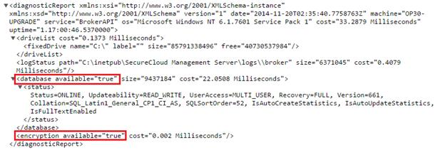 Broker API status