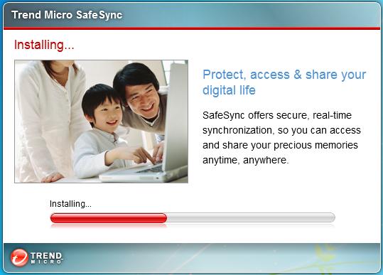 Installing SafeSync
