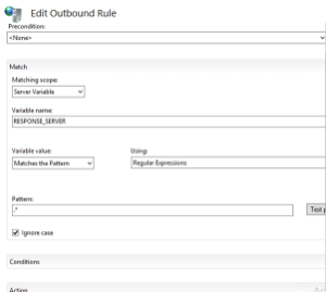 Outbound Rule - Server Version