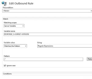 Outbound Rule - ASP Version