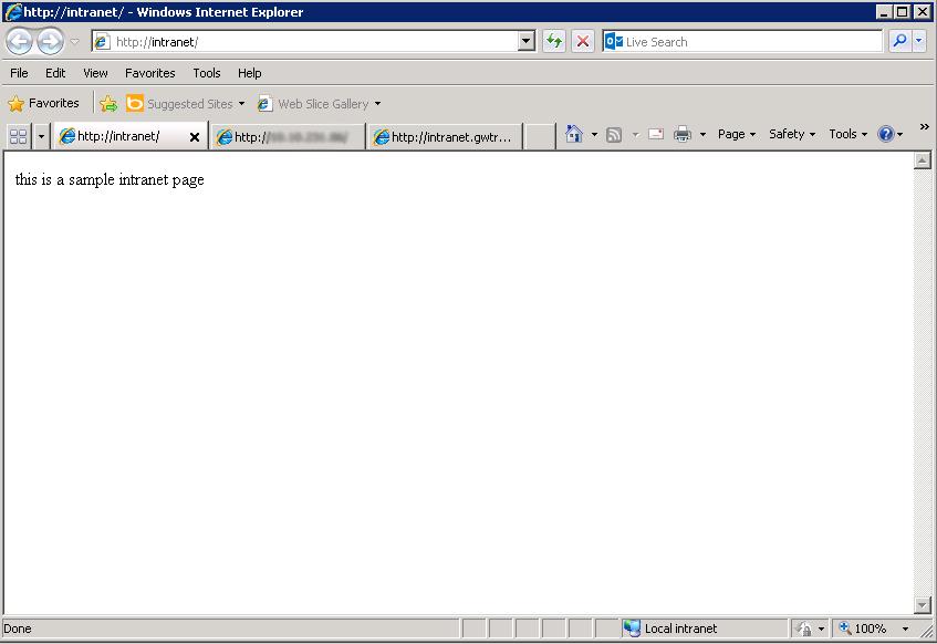 Configured Hostname